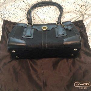 Classic Coach Handbag with dustbag